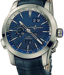 Ulysse Nardin Classical Perpetual Calendars GMT Manufacture Boutique Edition