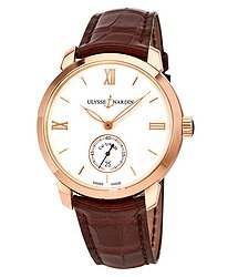 Ulysse Nardin Classico 18K Rose Gold Automatic Men's Watch 3206-136-2-31
