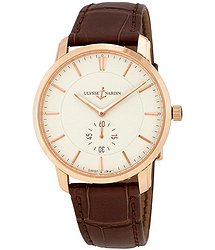 Ulysse Nardin Classico Eggshell Dial Men's Hand Wound Watch