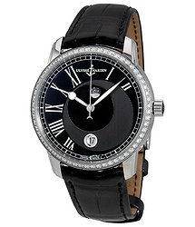 Ulysse Nardin Classico Luna Automatic Diamond Black Dial Men's Watch