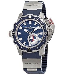 Ulysse Nardin Deep Dive 46mm Automatic Blue Dial Men's Limited Edition Watch 3203-500LE-3/93 HAMMER