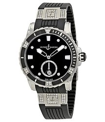 Ulysse Nardin Diver Automatic Black Dial Ladies Watch