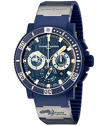 Ulysse Nardin Diver Black Sea Automatic Men's Chronograph Watch
