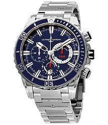 Ulysse Nardin Diver Chronograph Automatic Blue Dial Men's Watch