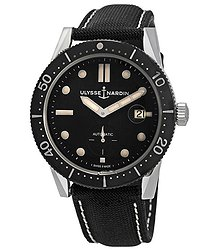 Ulysse Nardin Diver Chronometer Automatic Black Dial Men's Watch