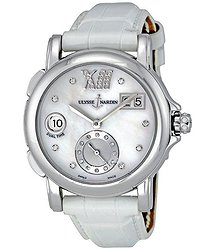 Ulysse Nardin Dual Lady Diamond Mother-of-pearl White Ladies Watch