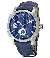 Ulysse Nardin Dual Time Automatic Blue Dial Men's Watch 3343-126LE-93