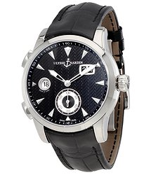 Ulysse Nardin Dual Time Black Dial Automatic Men's Watch 3343-126-912
