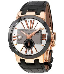 Ulysse Nardin Executive Dual Time 18 Carat Rose Gold Automatic Men's Watch