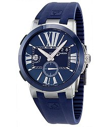 Ulysse Nardin Executive Dual Time Automatic Blue Dial Men's Watch