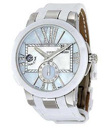 Ulysse Nardin Executive Dual Time Automatic Ladies Watch