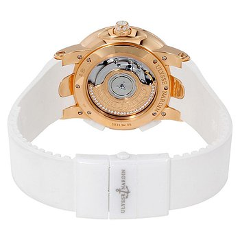 Купить часы Ulysse Nardin Executive Lady Mother of Pearl Diamond 18K Rose Gold Automatic Watch 246-10B-3C-391  в ломбарде швейцарских часов