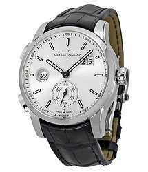 Ulysse Nardin GMT Dual Time Automatic Men's Watch 3343126-91
