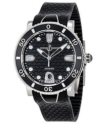 Ulysse Nardin Lady Diver Automatic Black Dial Ladies Watch 8103-101-3-02