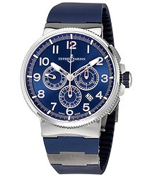 Ulysse Nardin Marine Chronograph Blue Dial Automatic Men's Watch 1503-150LE-3-63-VB