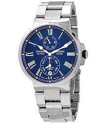 Ulysse Nardin Marine Chronometer Annual Calendar Automatic Blue Dial Men's Watch