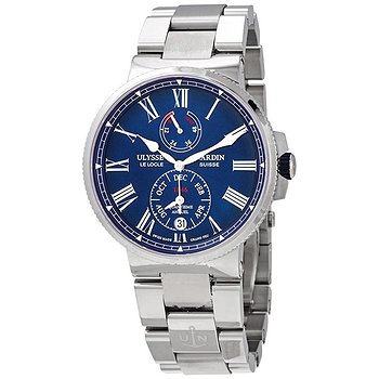 Купить часы Ulysse Nardin Marine Chronometer Annual Calendar Automatic Blue Dial Men's Watch  в ломбарде швейцарских часов