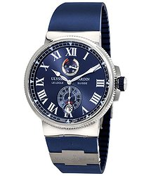 Ulysse Nardin Marine Chronometer Automatic Men's Rubber Watch