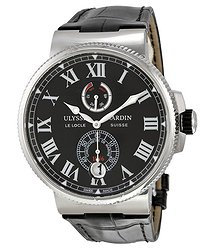 Ulysse Nardin Marine Chronometer Black Dial Automatic Men's Watch 1183-122-42-V2