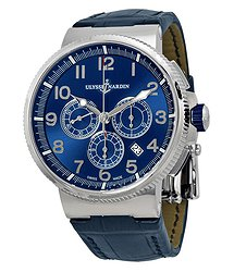 Ulysse Nardin Marine Chronometer Blue Dial Automatic Men's Watch 1503-150-63