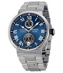 Ulysse Nardin Marine Chronometer Blue Dial Men's Watch 1183-126-7M-43