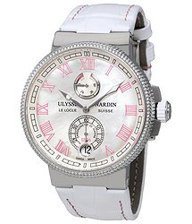 Ulysse Nardin Marine Chronometer Mother of Pearl Dial Ladies Watch