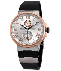 Ulysse Nardin Marine Chronometer Silver Dial Automatic Men's Watch
