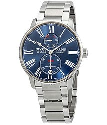 Ulysse Nardin Marine Chronometer Torpilleur Automatic Blue Dial Men's Watch