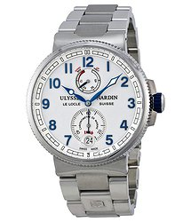 Ulysse Nardin Marine Chronometer White Dial Stainless Steel Men's Watch