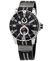 Ulysse Nardin Marine Diver Hispania Black Dial Automatic Men's Watch