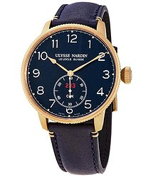 Ulysse Nardin Marine Torpilleur Limted Edition Automatic Chronometer Blue Dial Men's Watch