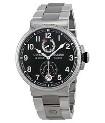 Ulysse Nardin Maxi Marine Black Dial Stainless Steel Men's Watch 1183-126-7M-62