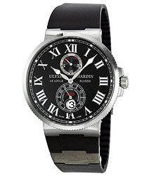 Ulysse Nardin Maxi Marine Chronometer Black Diial Men's Watch