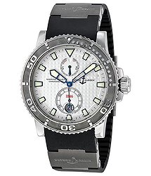Ulysse Nardin Maxi Marine Diver Automatic Silver Dotted Dial Men's Watch