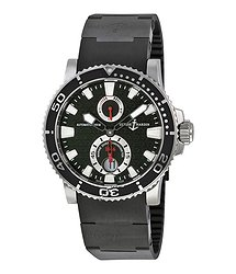 Ulysse Nardin Maxi Marine Diver Black Dial Men's Watch 263-33-3C-82