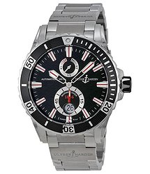 Ulysse Nardin Maxi Marine Diver Black Dial Stainless Steel Men's Watch