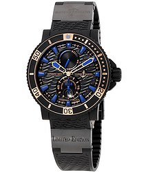 Ulysse Nardin Maxi Marine Diver Black Seal Automatic Men's Watch 263-92LE-3C-923-RG