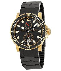 Ulysse Nardin Maxi Marine Diver Black Surf Men's Watch
