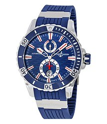 Ulysse Nardin Maxi Marine Diver Blue Dial Automatic Men's Watch 263-10-3-93