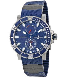 Ulysse Nardin Maxi Marine Diver Blue Dial Automatic Men's Watch 263-90-3C-93
