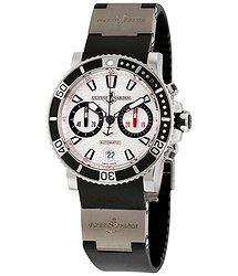 Ulysse Nardin Maxi Marine Diver Silver Dial Automatic Men's Watch 8003-102-3-916