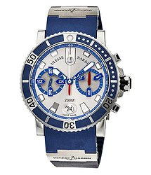 Ulysse Nardin Maxi Marine Diver Silver Dial Men's Watch