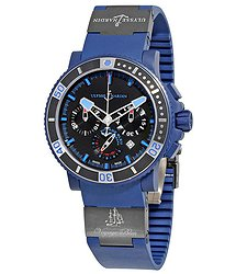 Ulysse Nardin Maxi Marine Diver Voyage Bleu Limited Edition Men's Watch