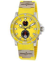 Ulysse Nardin Maxi Marine Diver Yellow Dial Automatic Men's Watch