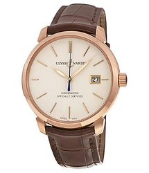 Ulysse Nardin San Marco Classico Ivory Dial Men's Watch 8156-111-2-91
