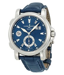 Ulysse Nardin Ulysee Nardin Maxi GMT Blue Dial Men's Watch