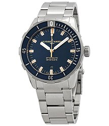 Ulysse Nardin Ulysse Nardin Diver Automatic Blue Dial Men's Watch 8163-175-7M/93