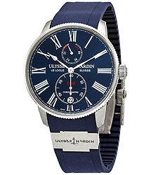Ulysse Nardin Ulysse Nardin Marine Torpilleur Automatic Chronometer Blue Dial Men's Watch 1183-310-3/43