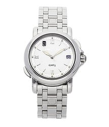 UN GMT Date  Stainless Steel Automatic 203-22-7