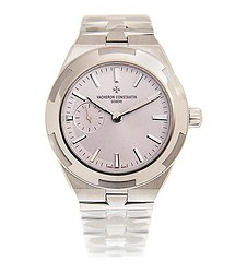 Vacheron Constantin Overseas Light Pink Dial Automatic Ladies Watch